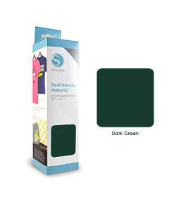 Donker Groen - Flex Transferfolie SILHOUETTE