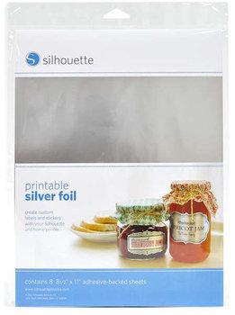 Zilver Stickervellen SILHOUETTE