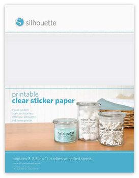 Transparante Stickervellen SILHOUETTE