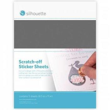 Scratch-off Zilver SILHOUETTE