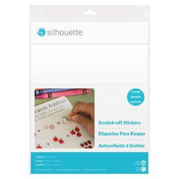 Scratch-off Printbaar SILHOUETTE