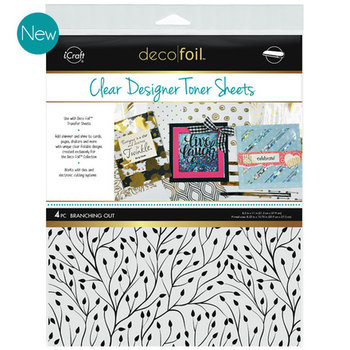 Branching Out * Clear Toner Sheets - iCraft Deco Foil