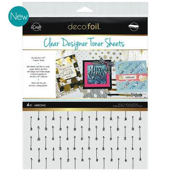 Arrows * Clear Toner Sheets - iCraft Deco Foil