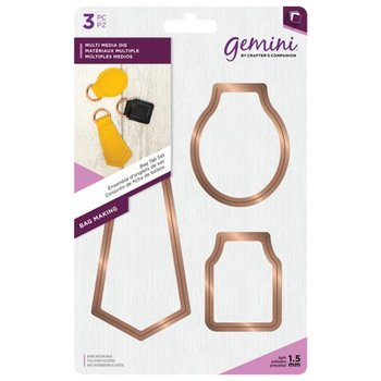 Snijmallen Bag Tab Set - Gemini