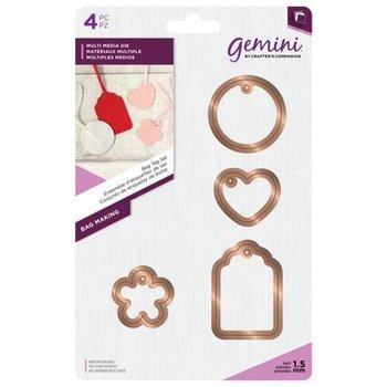 Snijmallen Bag Tag Set - Gemini