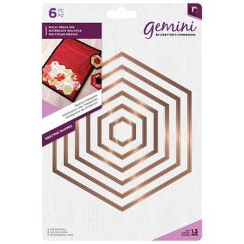 Nesting Snijmallen Zeshoeken - Gemini