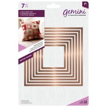 Nesting Snijmallen Vierkanten - Gemini
