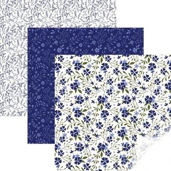 Vinyl - In Bloom Blue Sampler CRICUT