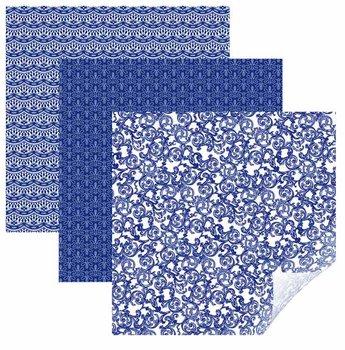 Vinyl - Filigree Blue Sampler CRICUT