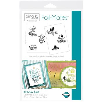 Birthday Bash - Gina K. Designs Foil-Mates Backgrounds