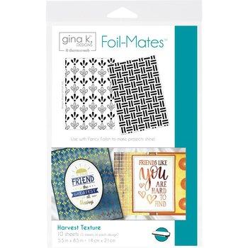 Harvest Texture - Gina K. Designs Foil-Mates Backgrounds