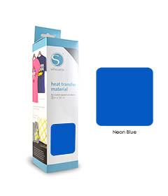 Fluo Blauw - Flex Transferfolie SILHOUETTE