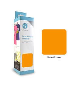 Fluo Oranje - Flex Transferfolie SILHOUETTE