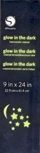 Glow-In-The-Dark Flex Transferfolie SILHOUETTE