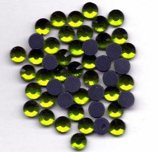 Rhinestones 5mm - Olivine Green