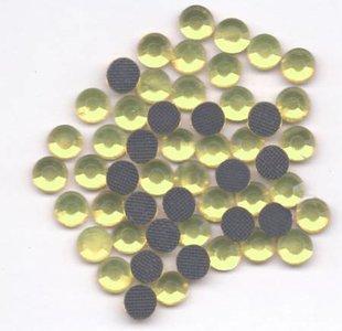 Rhinestones 3mm - Citrine Yellow Gold