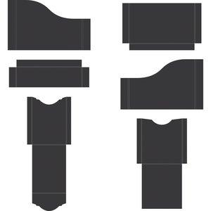 Pocket and Flipfold Inserts A - Black